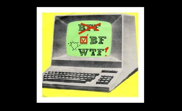 Background image: Kraftwerk: Computer Love