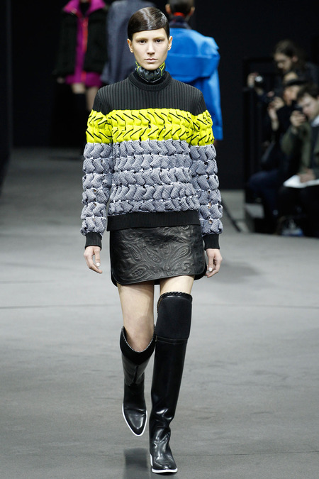 Alexander Wang look 14 fall 2014 photo by marcus tondo