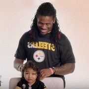Dad-Do #4 by NFL's DeAngelo Williams The Princess Puff for Pantene