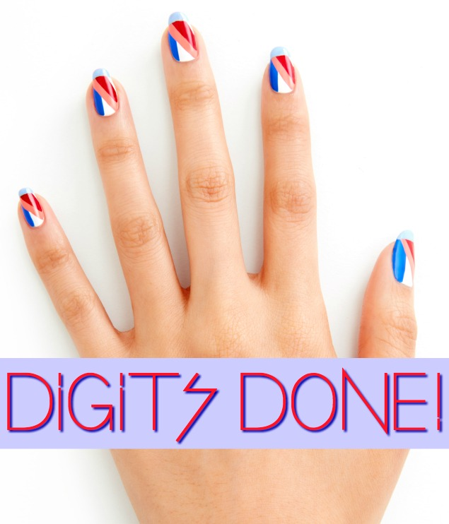3 DAY WEEKEND_FINAL_LOOK by essie celebrity nail artist Michelle Saunders 4th fourth of july nail art tutorial