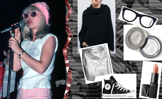 monochrome dressing moodboard monday pstol debbie harry blondie